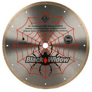 QEP 6-1008BW 10 In Black Widow Diamond Blade
