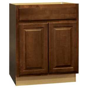Continental Cabinets CBKB27-COG 24-Inch X 27-Inch X 34-1/2-Inch Cafe Finish Maple Raised Panel Base Cabinet