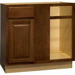 Continental Cabinets CBKBBC45-COG Blind Base Corner Cabinet