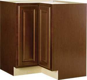 Continental Cabinets CBKBLS36-COG Corner Base Cabinet Lazy Susan
