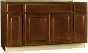 Continental Cabinets CBKSB60-COG 60 In Sink Base Cabinet