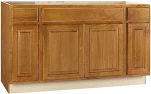 Continental Cabinets CBKSB60-MO 60 In Sink Base Cabinet