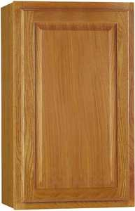 Continental Cabinets CBKW1830-MO 12-Inch X 18-Inch X 30-Inch Medium Finish Oak Raised Panel Wall Cabinet