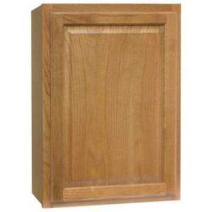 Continental Cabinets CBKW2130-MO 12-Inch X 21-Inch X 30-Inch Medium Finish Oak Raised Panel Wall Cabinet