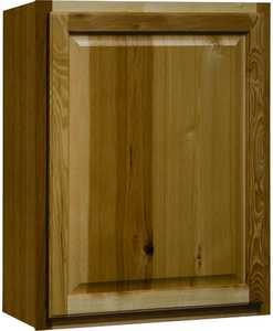 Continental Cabinets CBKW2430-NHK 12-Inch X 24-Inch X 30-Inch Hickory Finish Hickory Raised Panel Wall Cabinet