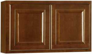 Continental Cabinets CBKW3018-COG 12-Inch X 30-Inch X 18-Inch Cafe Finish Maple Raised Panel Wall Bridge Cabinet