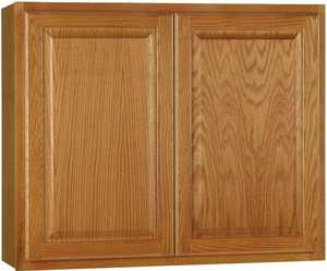 Continental Cabinets CBKW3630-MO 12-Inch X 36-Inch X 30-Inch Medium Finish Oak Raised Panel Wall Cabinet