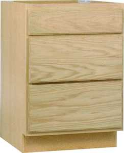 Continental Cabinets DB24OHD 24 In Drawer Base Cabinet