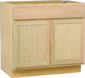 Continental Cabinets SB36OHD 36 In Sink Base Cabinet