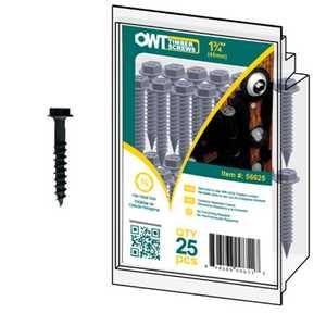 Ozco 56625 Timber Screw 1/4x1-3/4 in