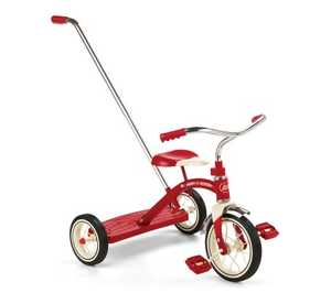 Radio Flyer 34T 10-Inch Classic Red Tricycle