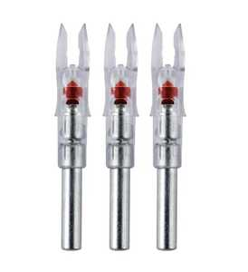 Rage Outdoors NT-102 Nockturnal Gt Lighted Nocks 3 Pack Red
