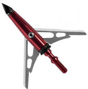 Rage Outdoors R65100 Chisel Tip 2-Blade Sc 100gr Broadheads-3 Pack
