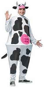 RASTA IMPOSTA 6620 Adult Cow Hoopster Costume