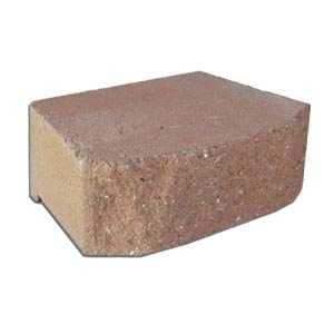 Pavestone 81122 Light Brown Anchor Windsor Stone Retaining Wall Block