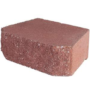 Pavestone 81151 River Red Anchor Windsor Stone Retaining Wall Block