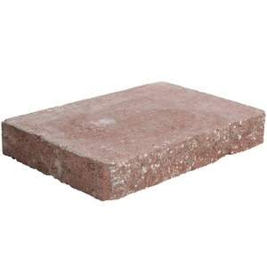 Pavestone 81451 River Red Windsor Wall Cap