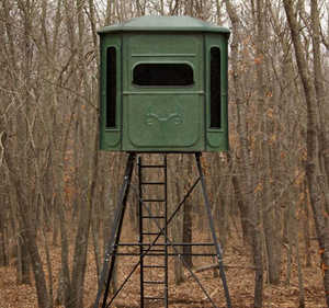 Redneck Hunting Blinds RD-BP360CCD66 Buck Palace 360 Crossover Blind Without Stand