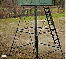 Redneck Hunting Blinds RD-STD 10 ft Universal 10 Ft Stand Only For Hunting Blinds