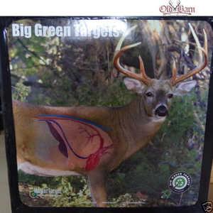 Redneck Hunting Blinds BGT-MPD Big Green Field Point Foam Face Targets