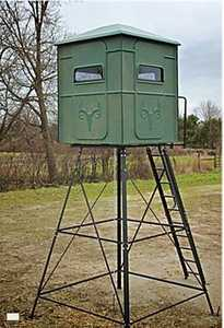 Redneck Hunting Blinds RD-TT55 Trophy Tower Crossover Blind Without Stand