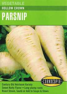 Cornucopia Garden Seeds 291 Hollow Crown Parsnip Seeds