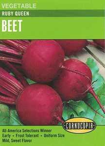 Cornucopia Garden Seeds 146 Ruby Queen Beet Seeds