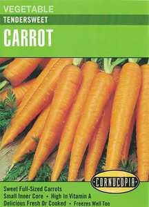 Cornucopia Garden Seeds 203 Tendersweet Carrot Seeds