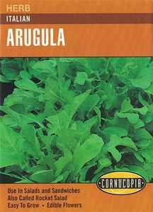 Cornucopia Garden Seeds 241 Italian Arugula Seeds