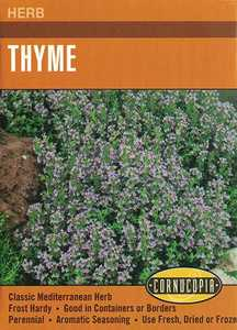 Cornucopia Garden Seeds 258 Thyme Seeds