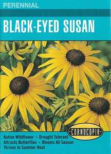 Cornucopia Garden Seeds 208 Black-Eyed Susan Seeds