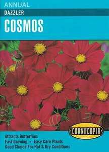 Cornucopia Garden Seeds 232 Dazzler Cosmos Seeds
