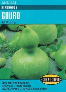 Cornucopia Garden Seeds 211 Birdhouse Gourd Seeds