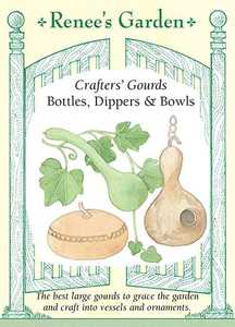 Renee's Garden Seed Co. 5101 Bottles Dippers And Bowls Crafters' Gourd Seeds