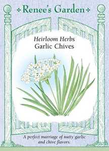 Renee's Garden Seed Co. 5472 Garlic Chive Heirloom Herb Seeds