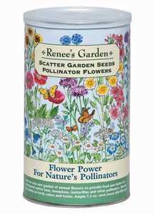 Renee's Garden Seed Co. 8182 Scatter Garden Seeds Pollinator Flowers