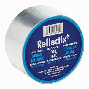 Reflectix FT210 2 in X 30 ft Foil Tape ( Sold By The Roll)