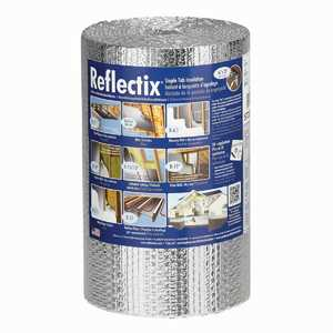 Reflectix ST16025 16 in X 25 ft Staple Tab Double Reflective Double Bubble Insulation ( Sold By The Roll)