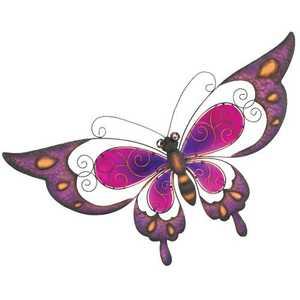 Regal Art & Gift 10569 Butterfly Wall Decor 29 in - Purple
