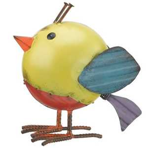 Regal Art & Gift 10599 Folk Bird Decor - Yellow