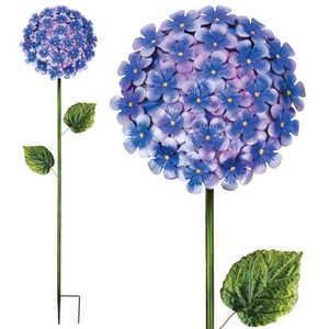 Regal Art & Gift 11228 Hydrangea Stake 49 in - Purple