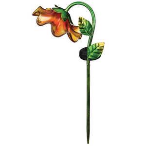 Regal Art & Gift 11245 Mini Solar Bell Flower Stake - Yellow