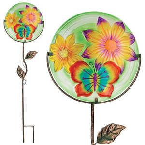 Regal Art & Gift 11320 Stake Glow Disc Butterfly 12 in