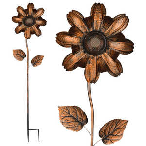Regal Art & Gift 11259 Wireless Speaker Flower Stake - Copper