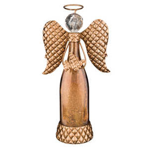 Regal Art & Gift 11047 Copper Led Angel Decor