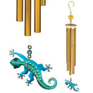 Regal Art & Gift 05495 Garden Chime Gecko