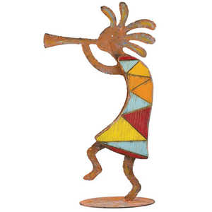 Regal Art & Gift 10940 Rustic Kokopelli Decor Head Up