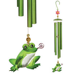 Regal Art & Gift 05494 Garden Chime - Frog