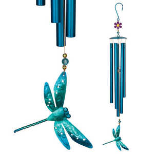 Regal Art & Gift 05493 23-1/2 Dragonfly Garden Wind Chime