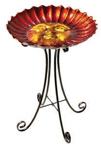 Regal Art & Gift 10270 Birdbath With Stand - Sun